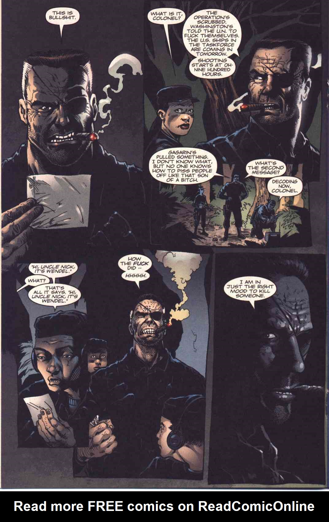 Read online Fury comic -  Issue #4 - 13