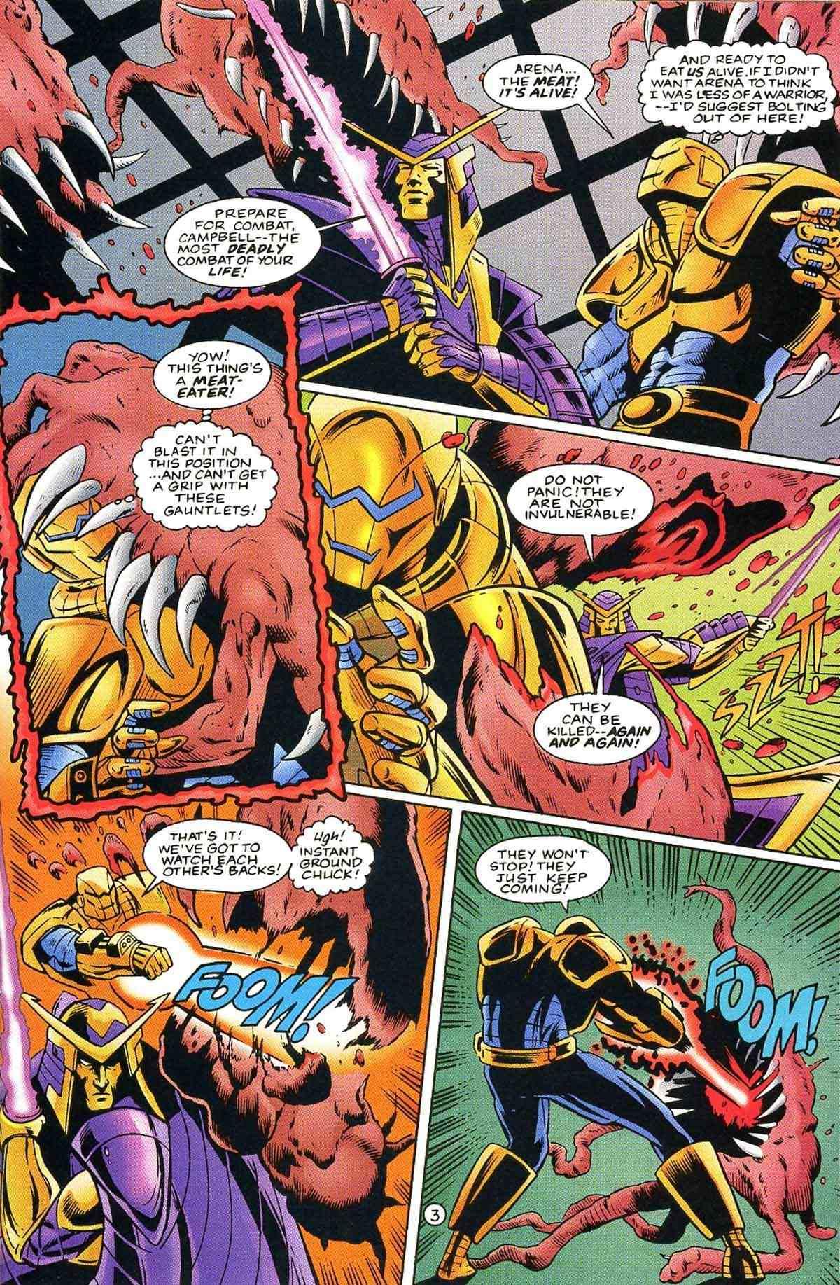 Read online Ultraverse Premiere comic -  Issue #10 - 36
