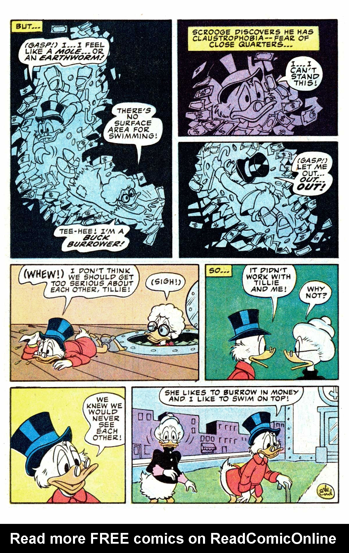 Read online Uncle Scrooge (1953) comic -  Issue #202 - 26