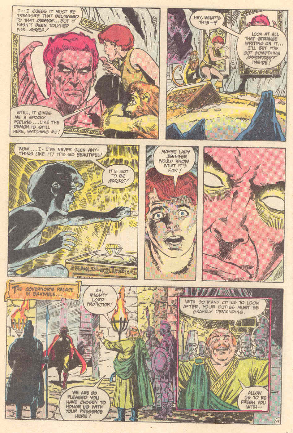 Warlord (1976) issue 89 - Page 9