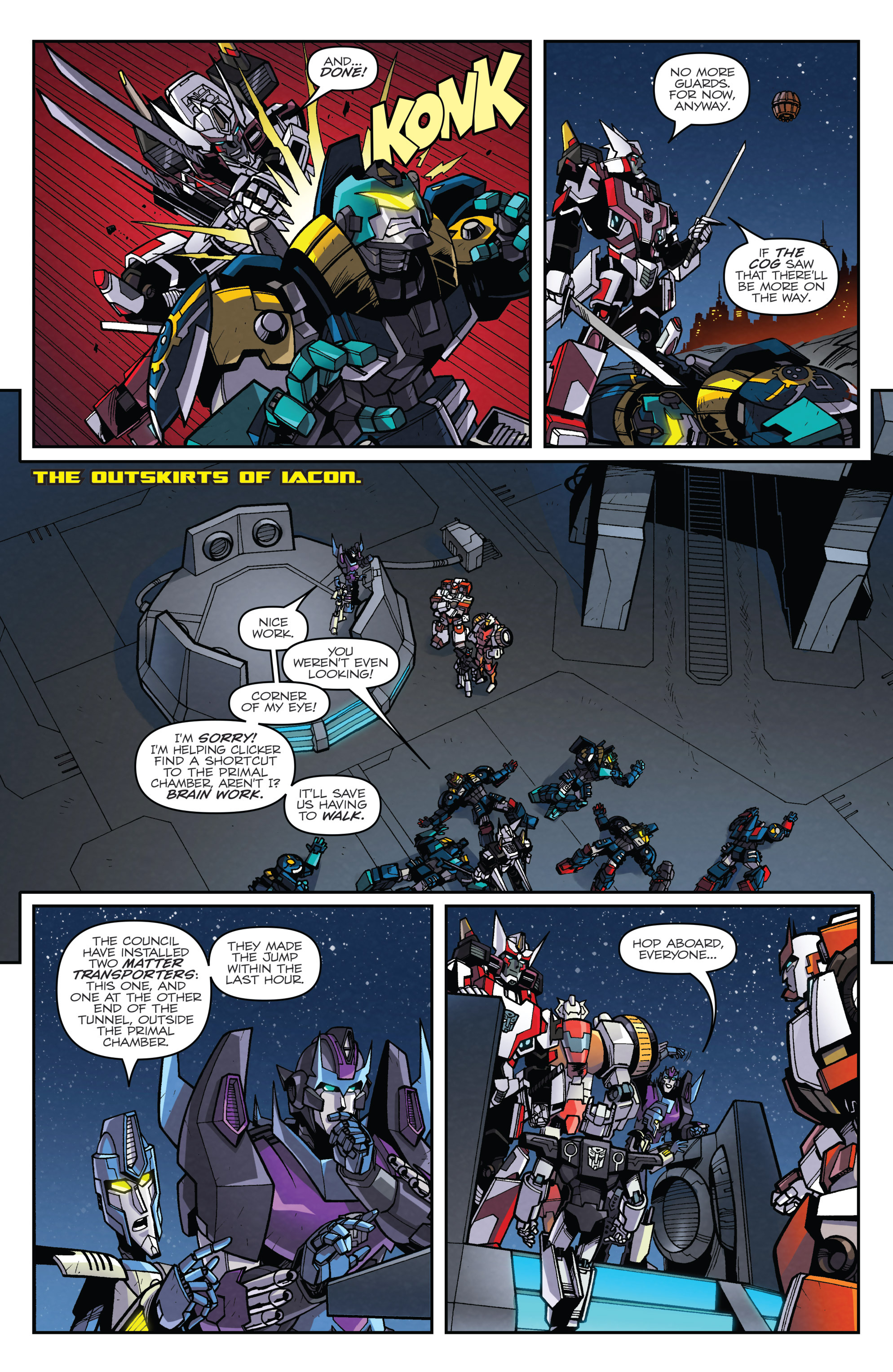 Read online Transformers: Lost Light comic -  Issue #4 - 15