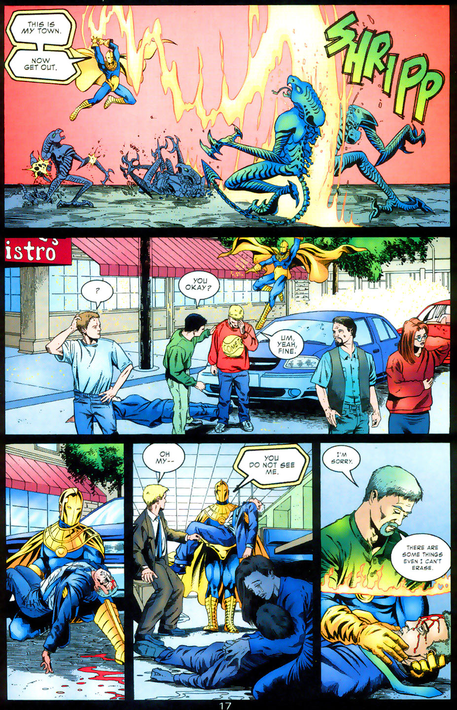 Read online Doctor Fate (2003) comic -  Issue #2 - 18