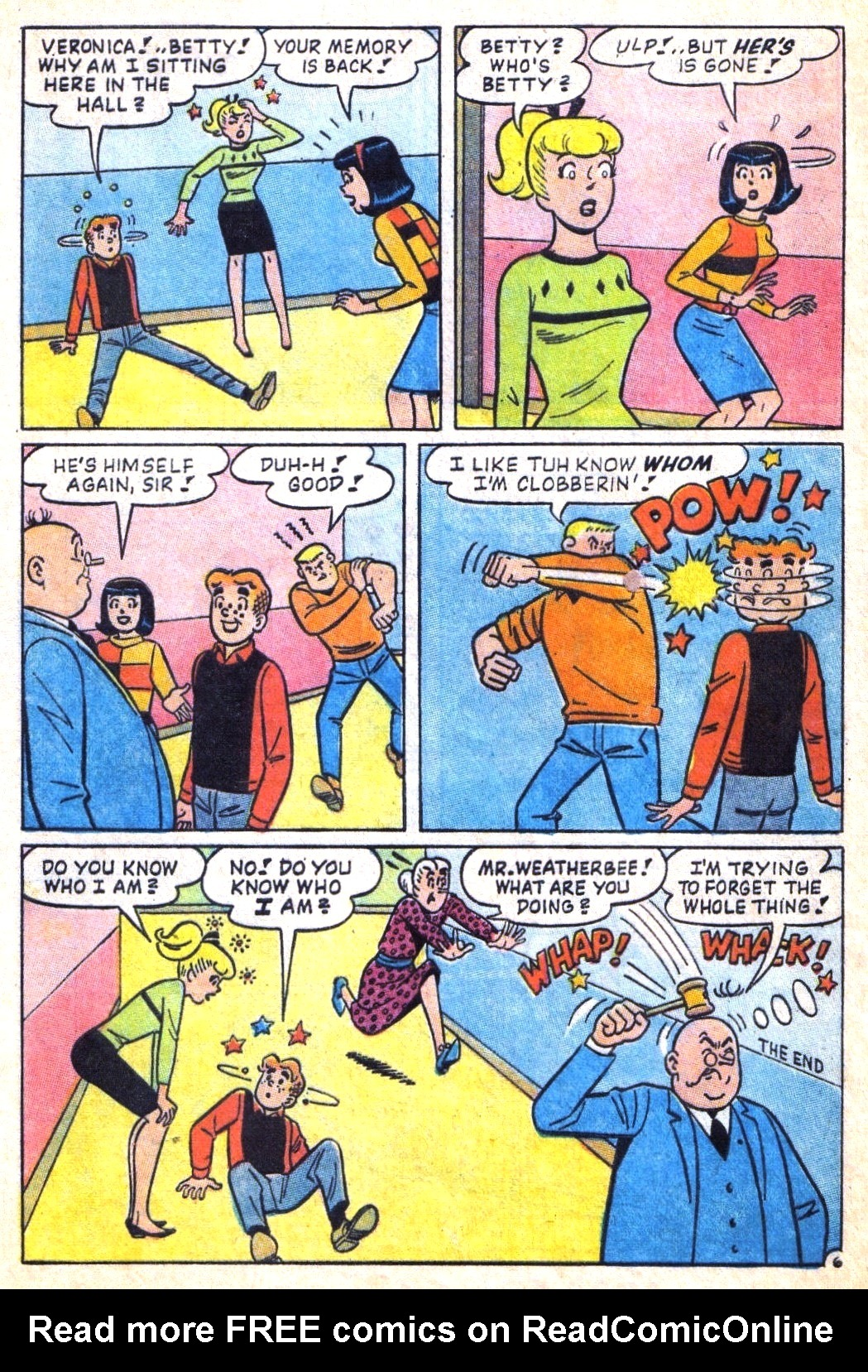 Read online Archie (1960) comic -  Issue #171 - 8