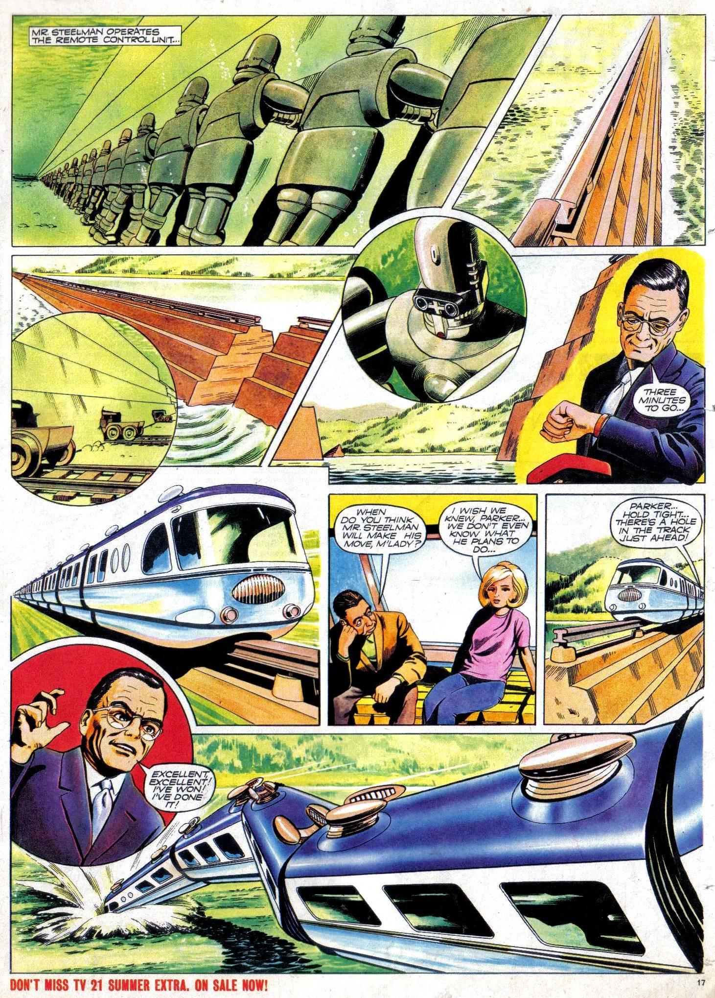 Read online TV Century 21 (TV 21) comic -  Issue #30 - 16