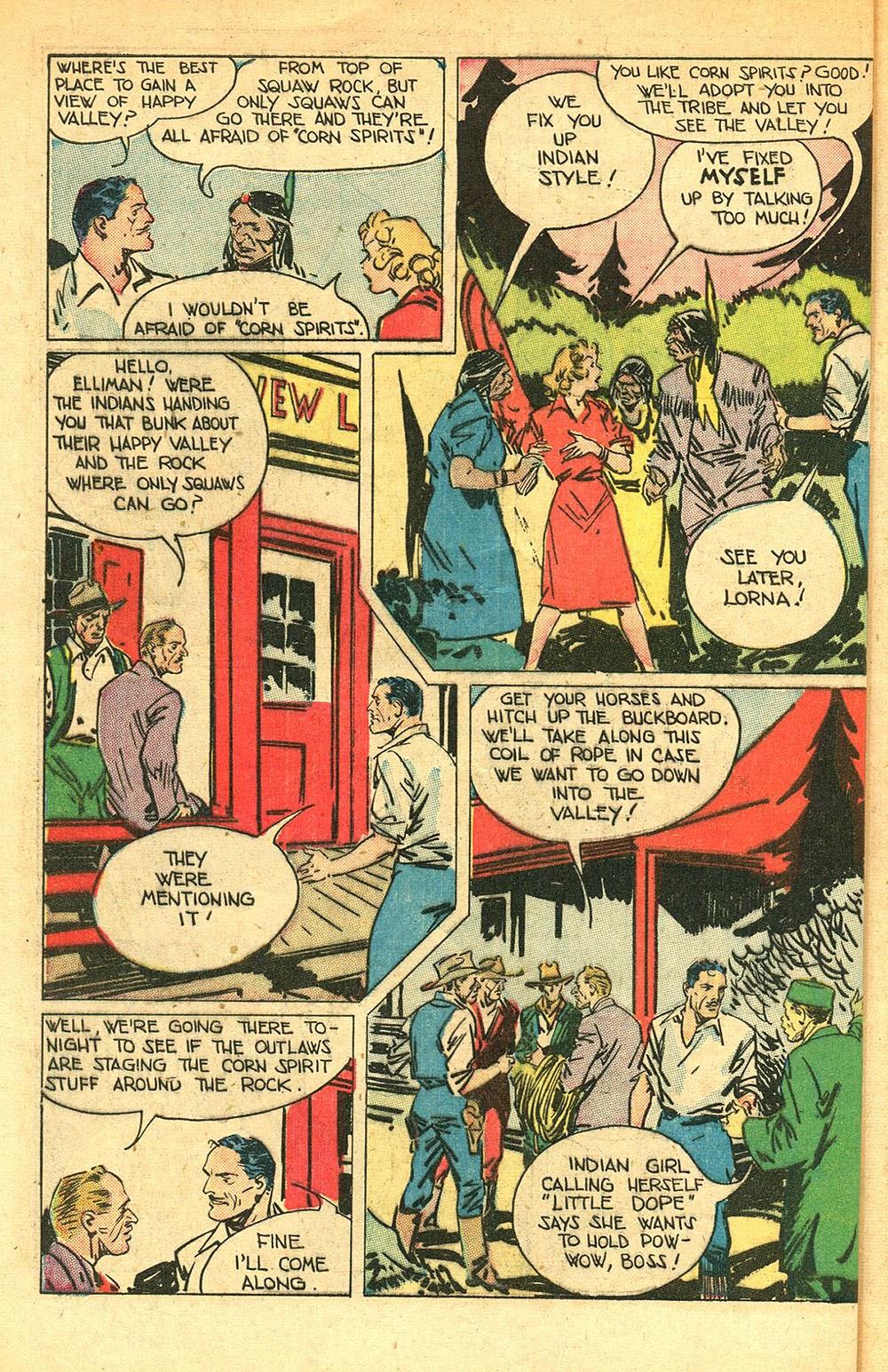 Read online Super-Magician Comics comic -  Issue #56 - 40