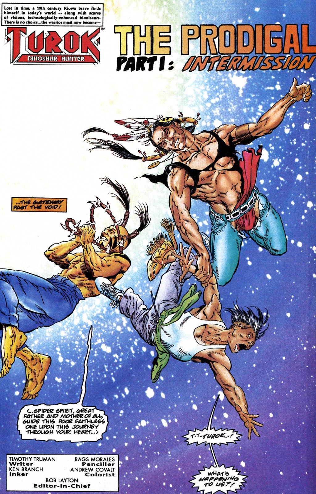 Read online Turok, Dinosaur Hunter (1993) comic -  Issue #24 - 3