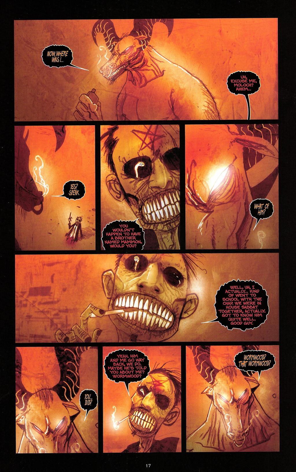 Read online Wormwood: Gentleman Corpse comic -  Issue #4 - 20