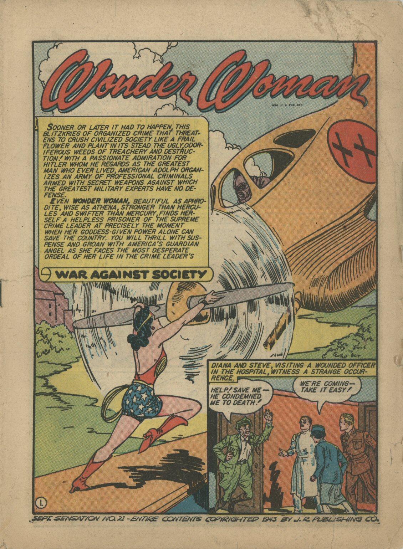Read online Sensation (Mystery) Comics comic -  Issue #21 - 2