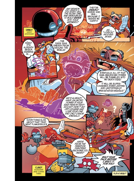 Read online Sonic Comics Spectacular: Speed of Sound comic -  Issue # Full - 133