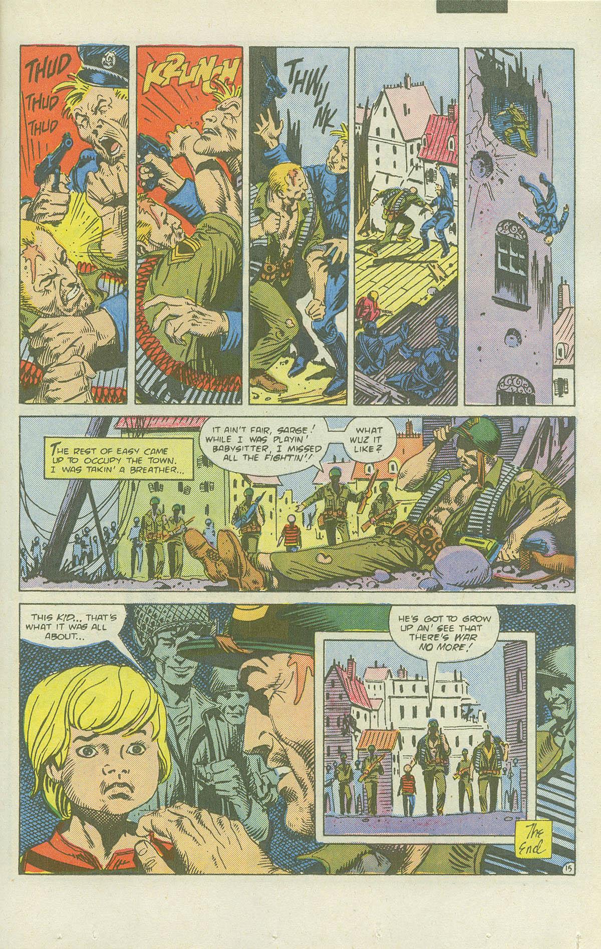 Read online Sgt. Rock comic -  Issue #415 - 20