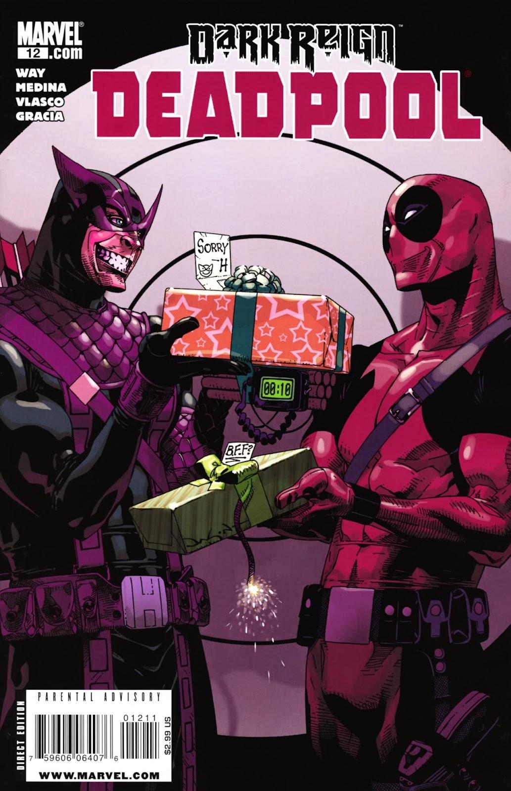 Read online Deadpool (2008) comic -  Issue #12 - 1