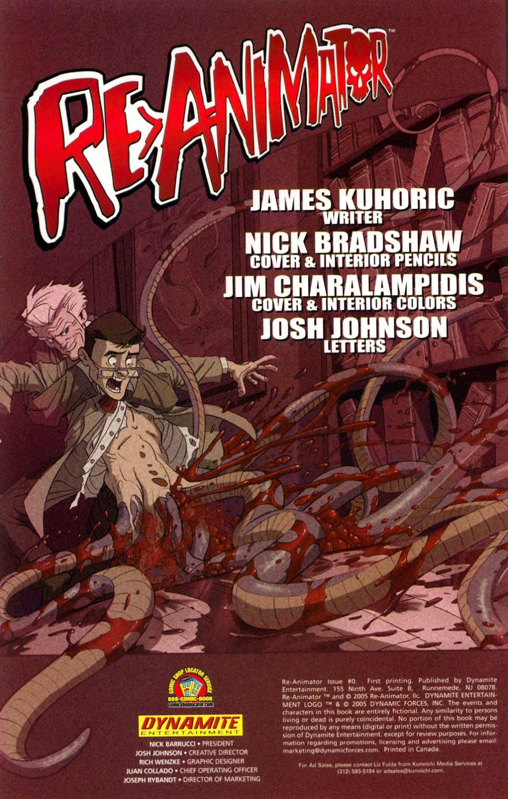 Read online Re-Animator comic -  Issue # Full - 2