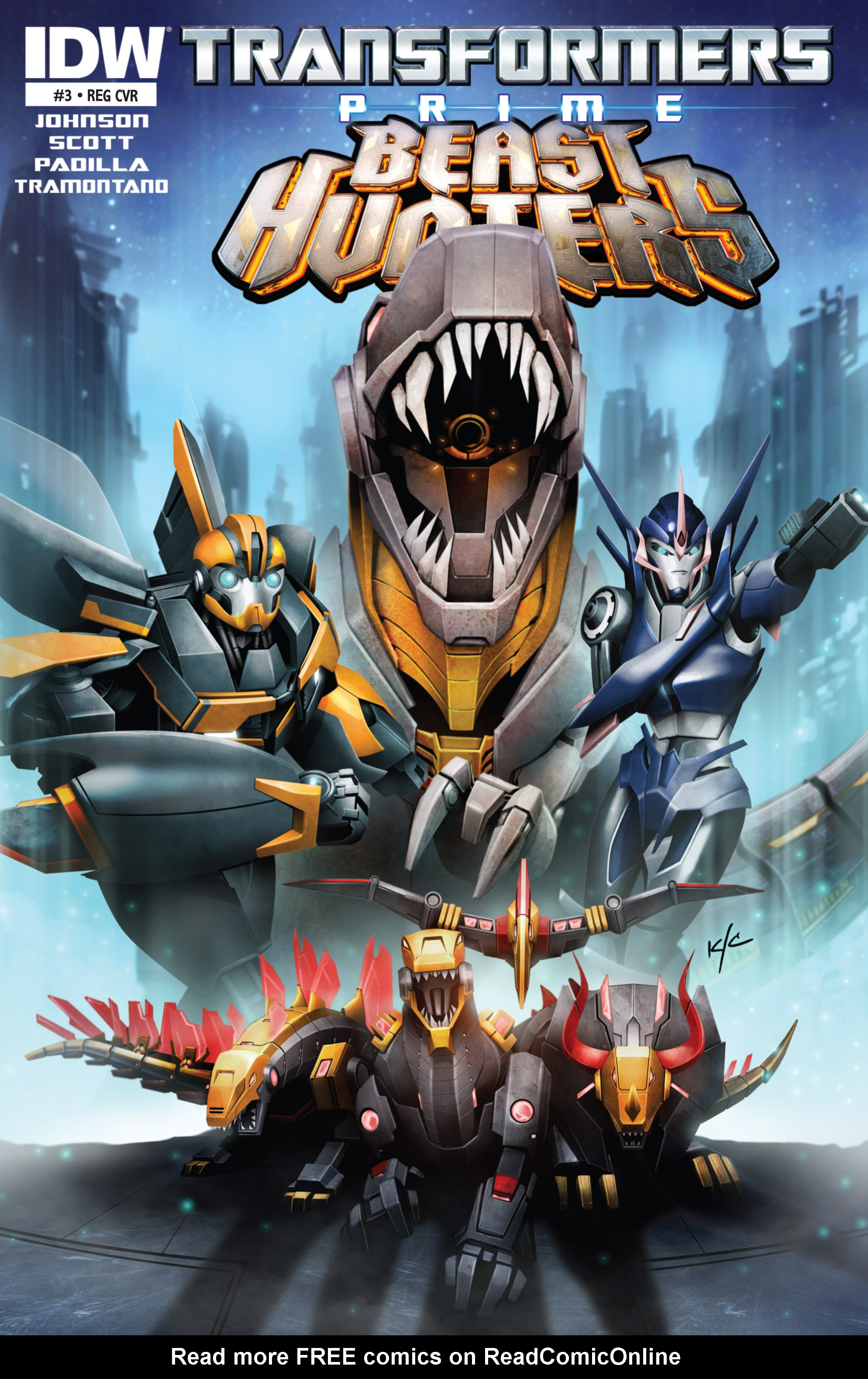 Read online Transformers Prime: Beast Hunters comic -  Issue #8 - 1