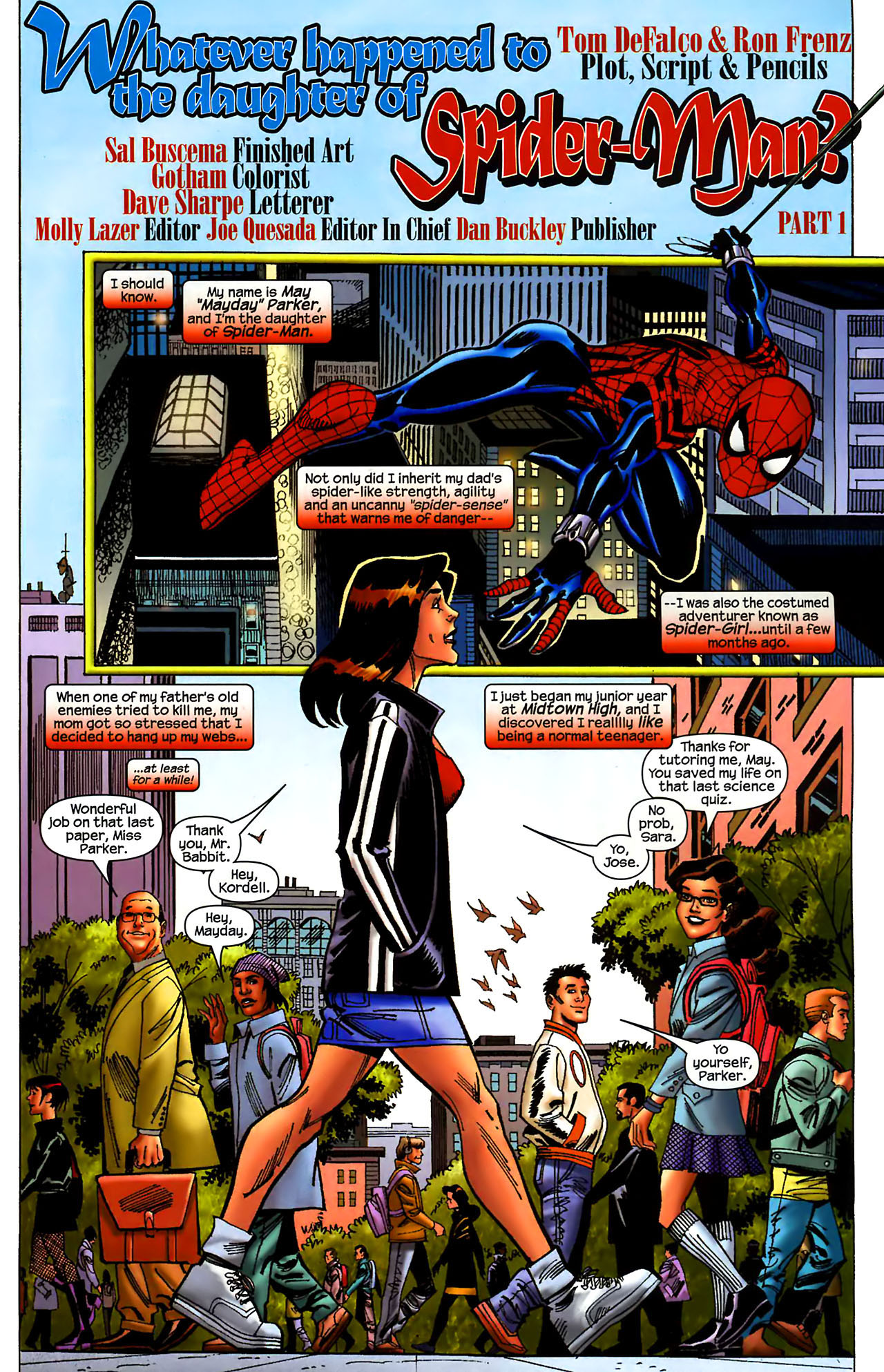 Read online Amazing Spider-Girl comic -  Issue #1 - 6