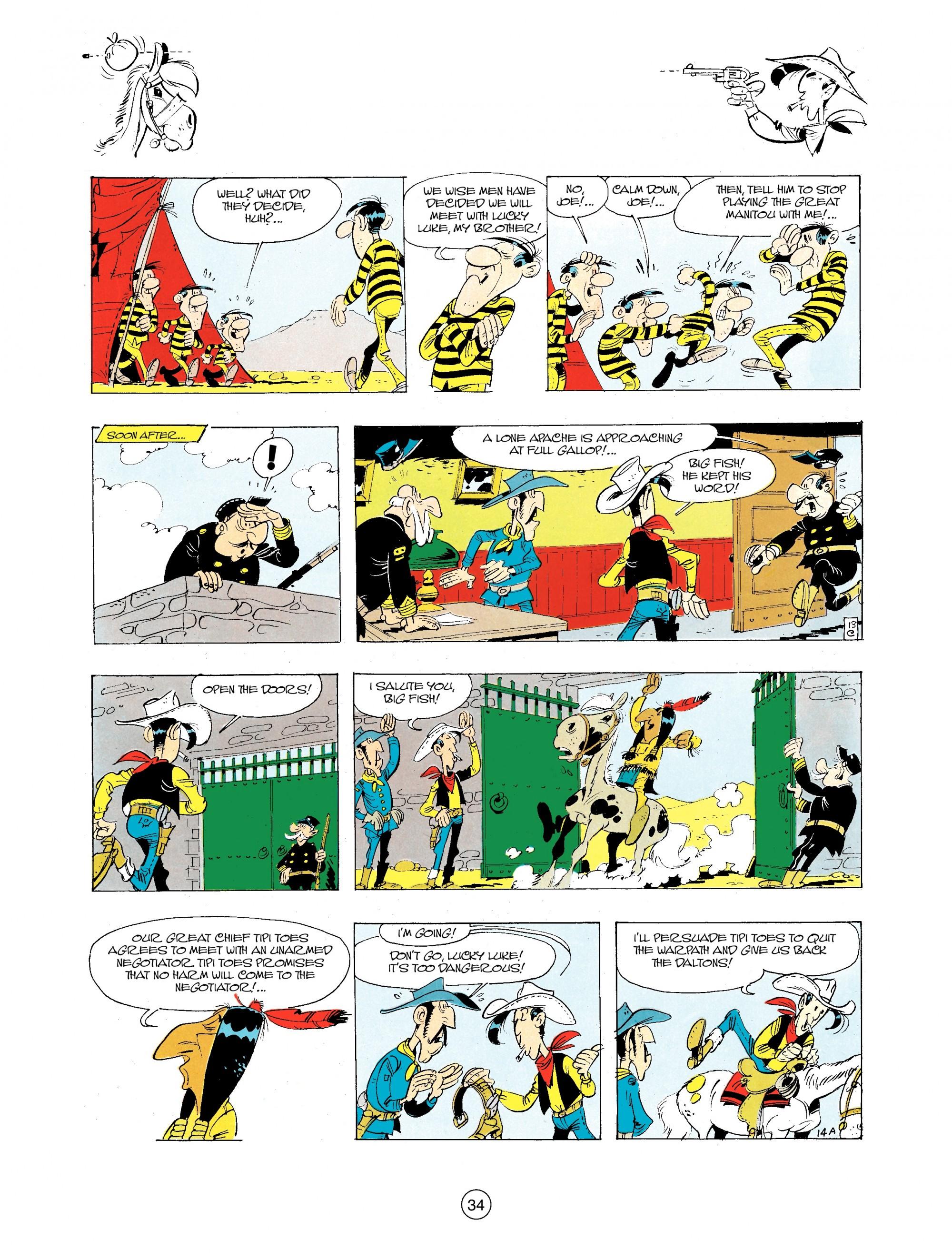 Read online A Lucky Luke Adventure comic -  Issue #34 - 34