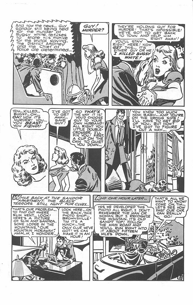 Read online Golden-Age Men of Mystery comic -  Issue #9 - 10