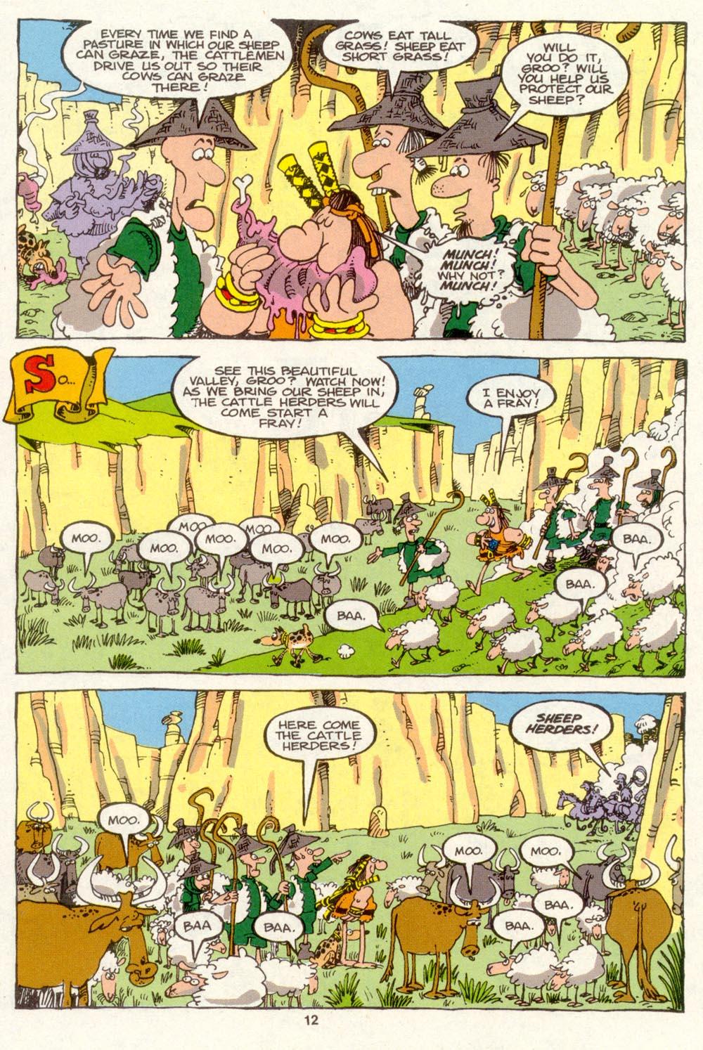 Read online Sergio Aragonés Groo the Wanderer comic -  Issue #88 - 13