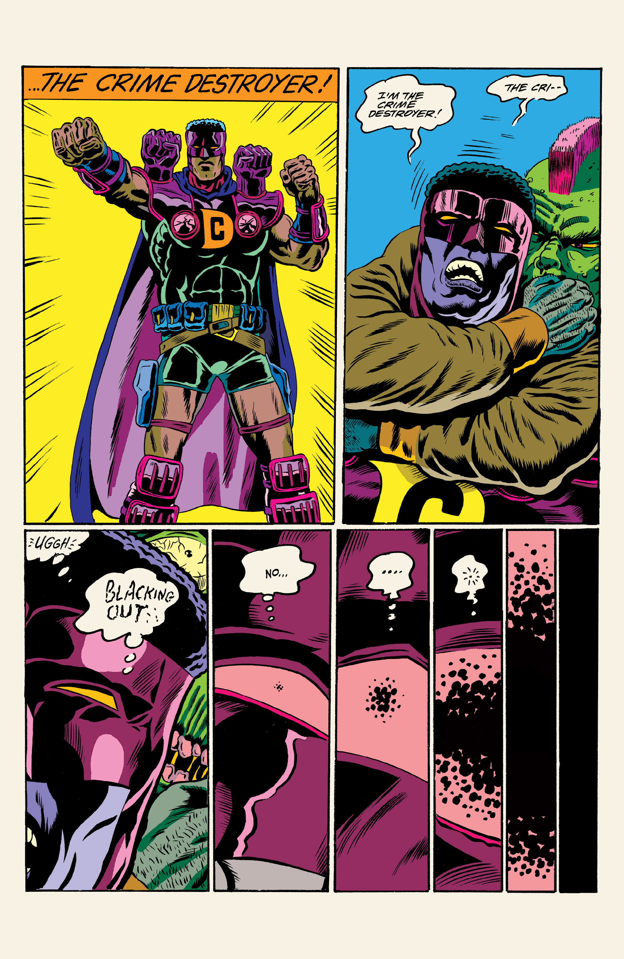 Read online All Time Comics: Crime Destroyer comic -  Issue #1 - 20