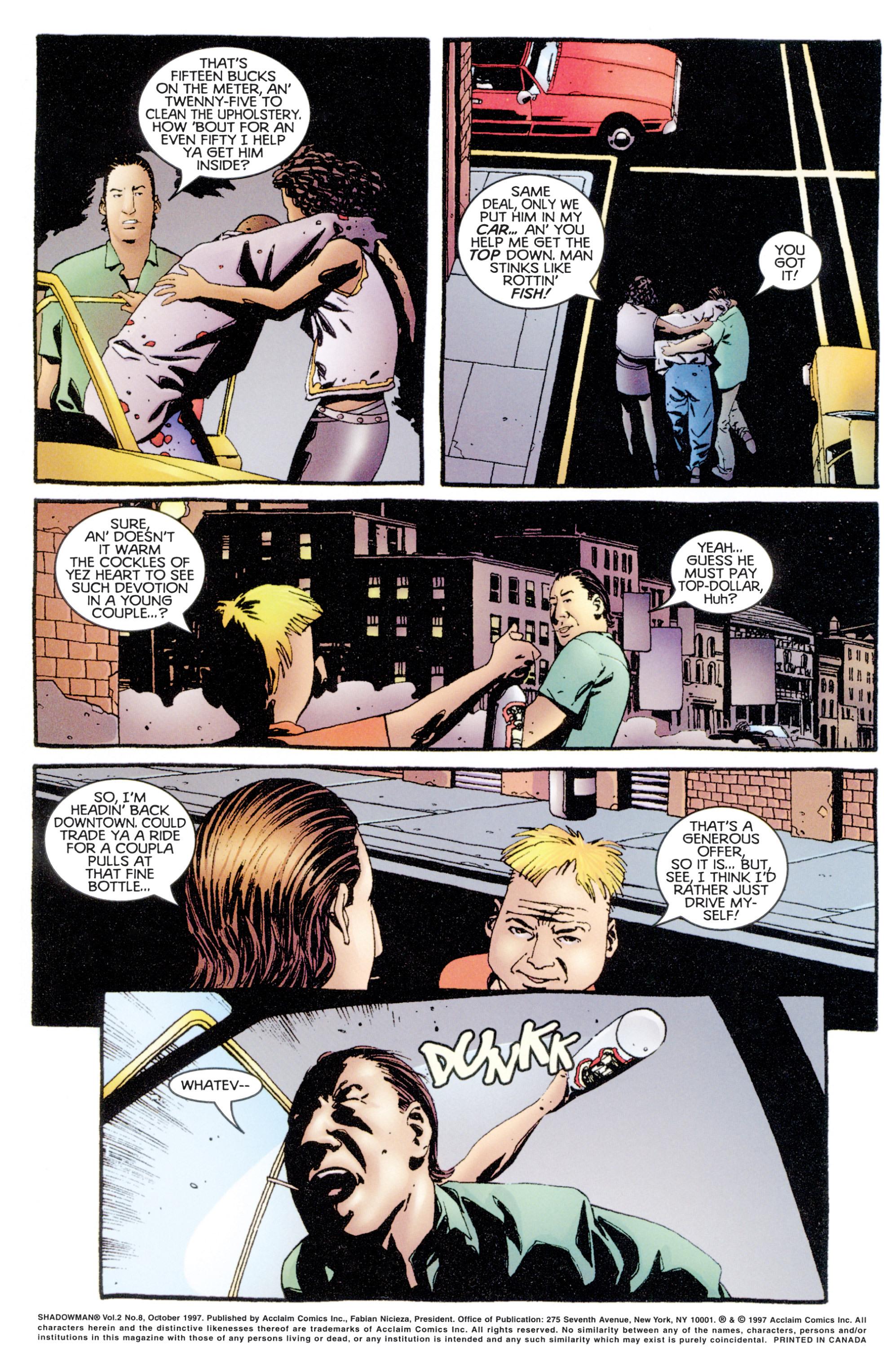 Read online Shadowman (1997) comic -  Issue #8 - 3