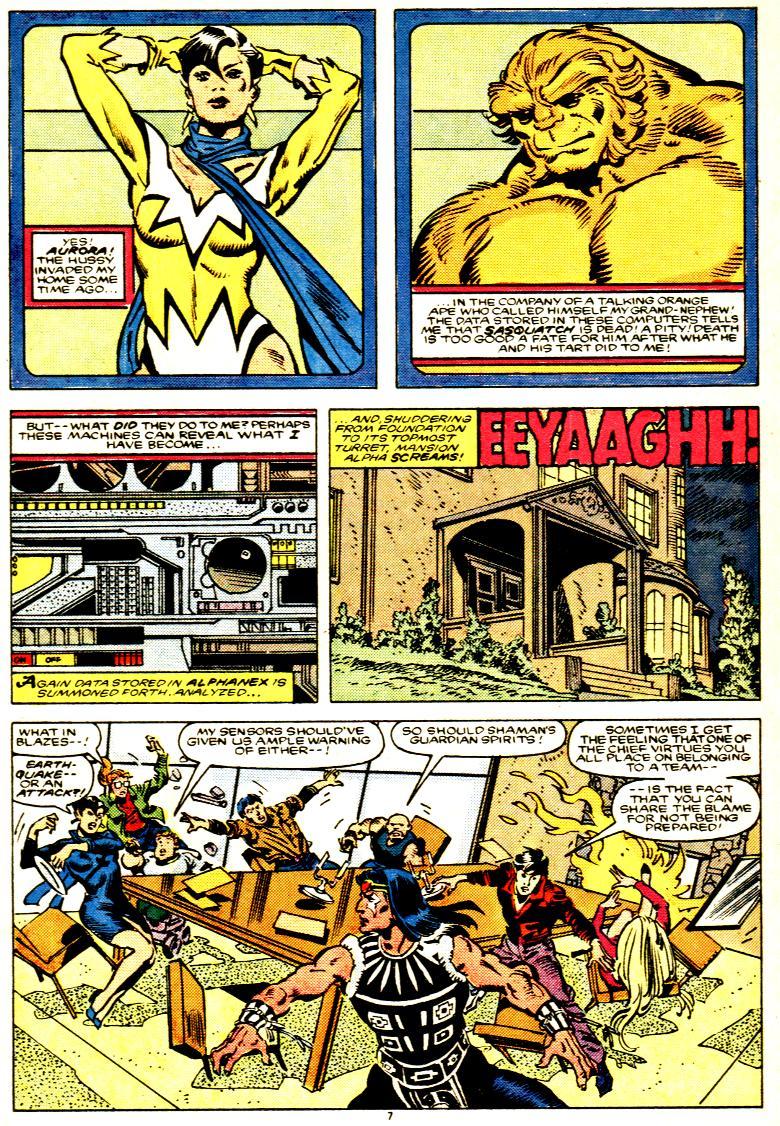 Read online Alpha Flight (1983) comic -  Issue # _Annual 1 - 8