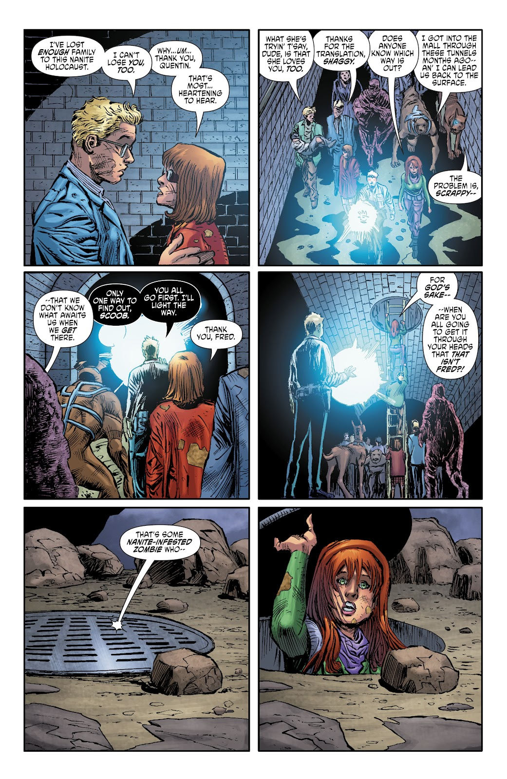 Read online Scooby Apocalypse comic -  Issue #35 - 7