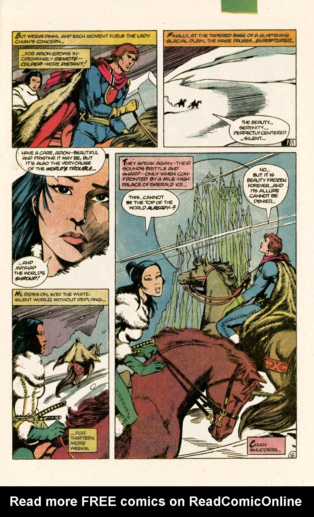 Read online Arion, Lord of Atlantis comic -  Issue #9 - 24