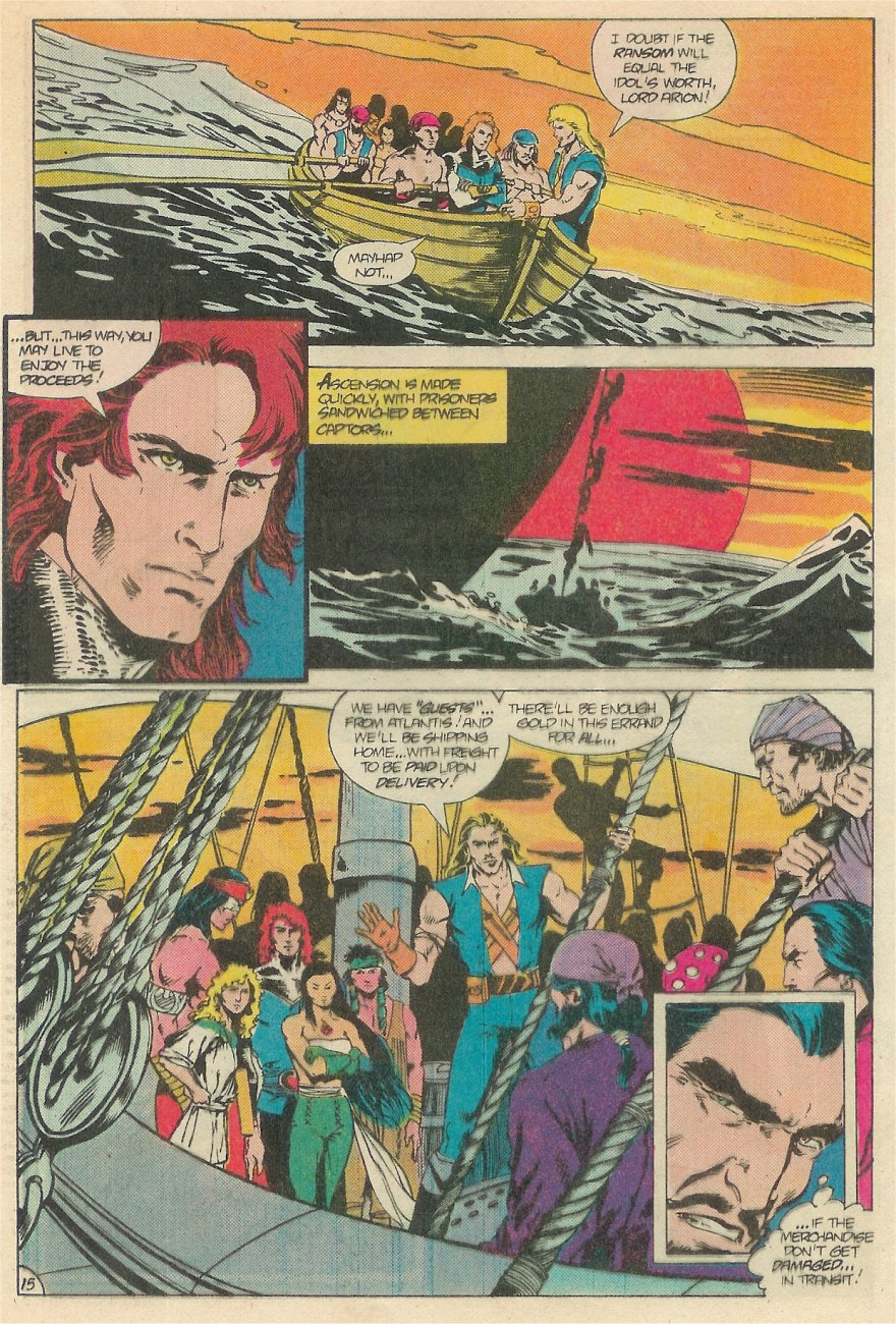 Read online Arion, Lord of Atlantis comic -  Issue #20 - 16