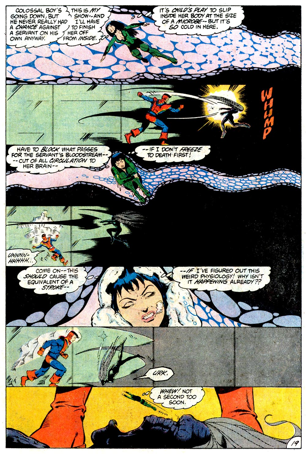 Legion of Super-Heroes (1980) 294 Page 19