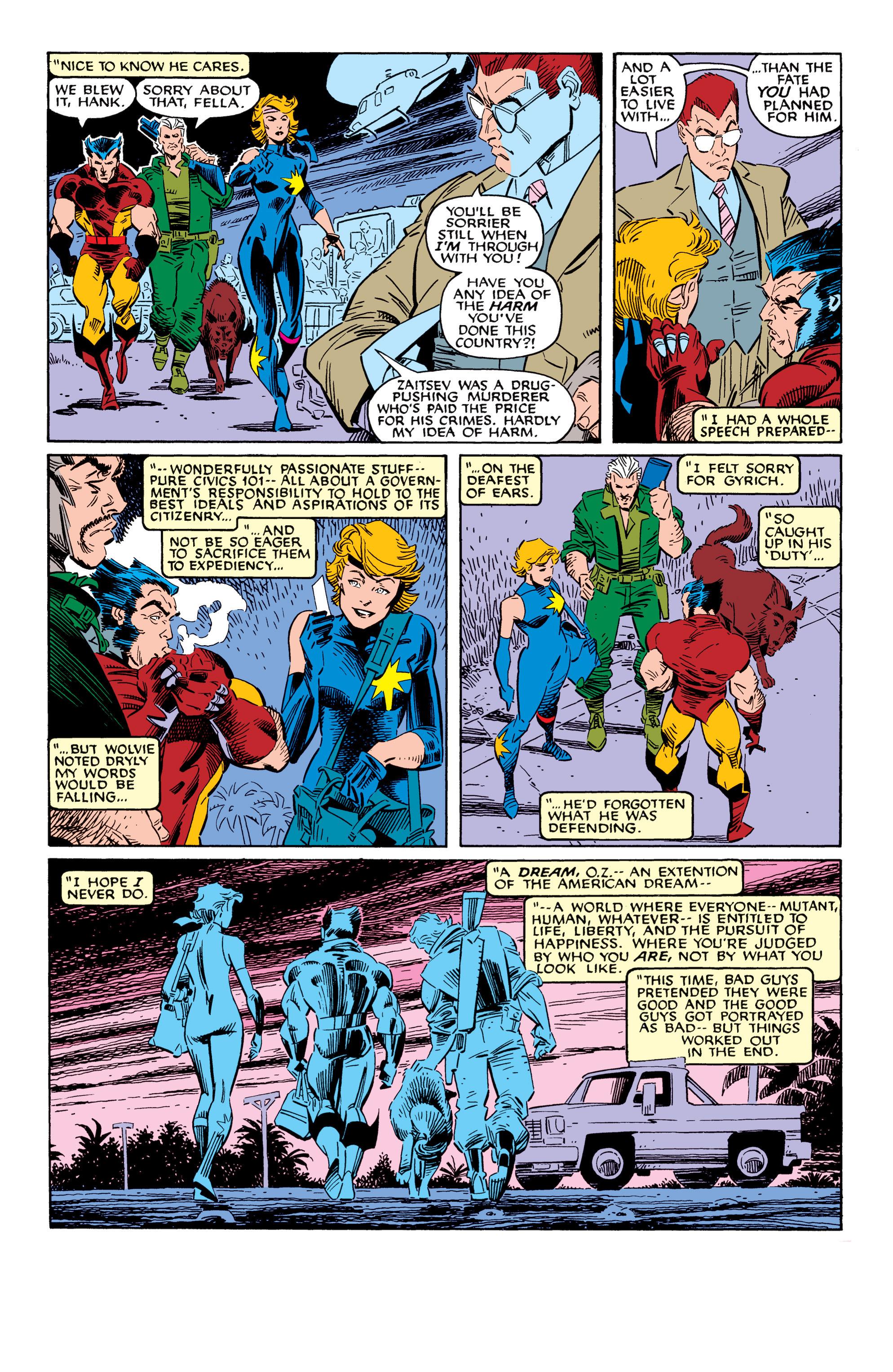 Read online Uncanny X-Men (1963) comic -  Issue #228 - 24