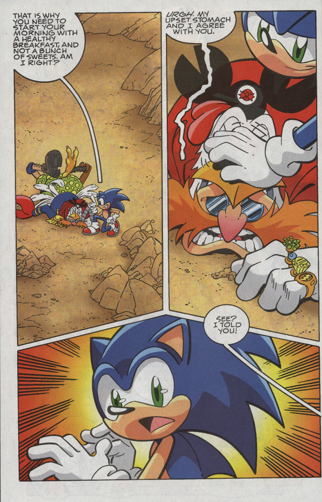 Read online Sonic X comic -  Issue #35 - 28