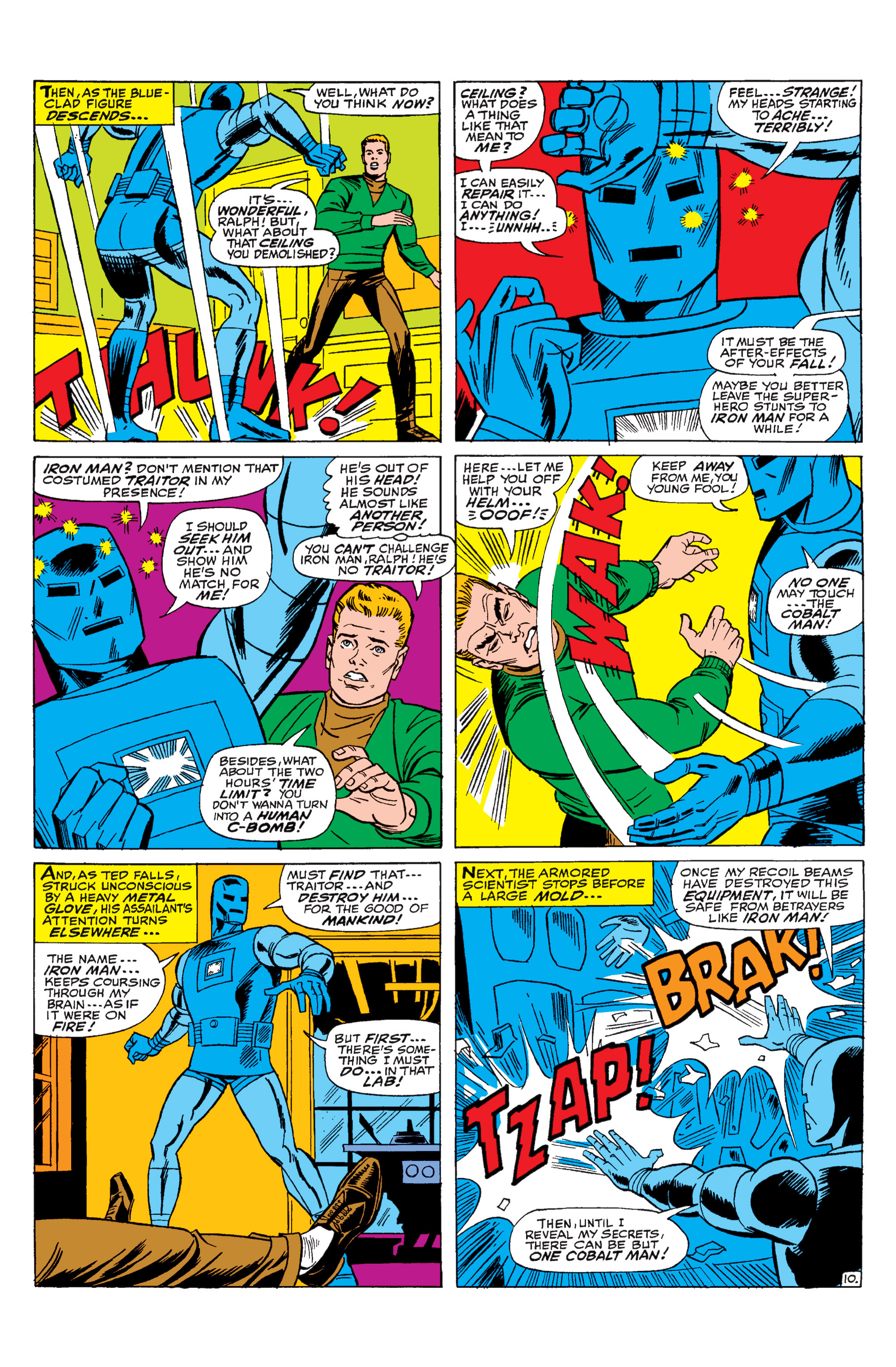 Read online Uncanny X-Men (1963) comic -  Issue #31 - 11