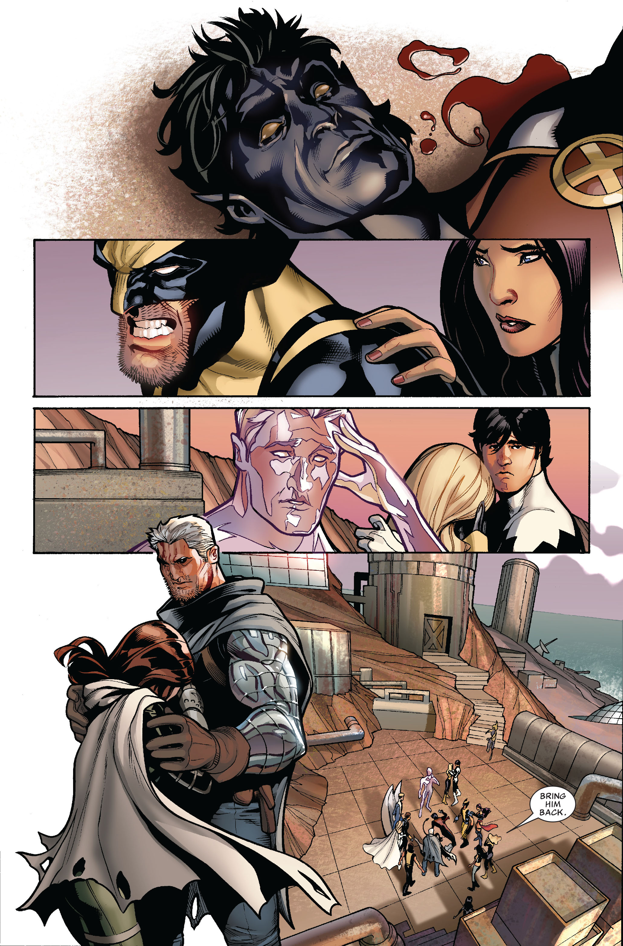 Read online Uncanny X-Men (1963) comic -  Issue #524 - 5