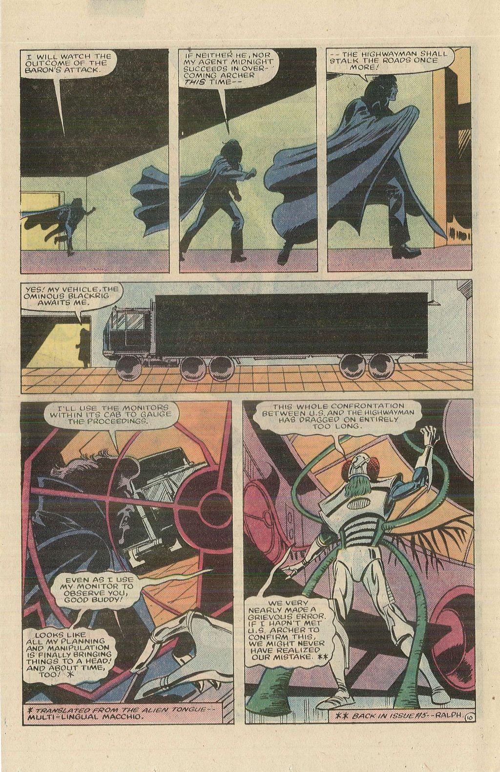 Read online U.S. 1 comic -  Issue #9 - 14