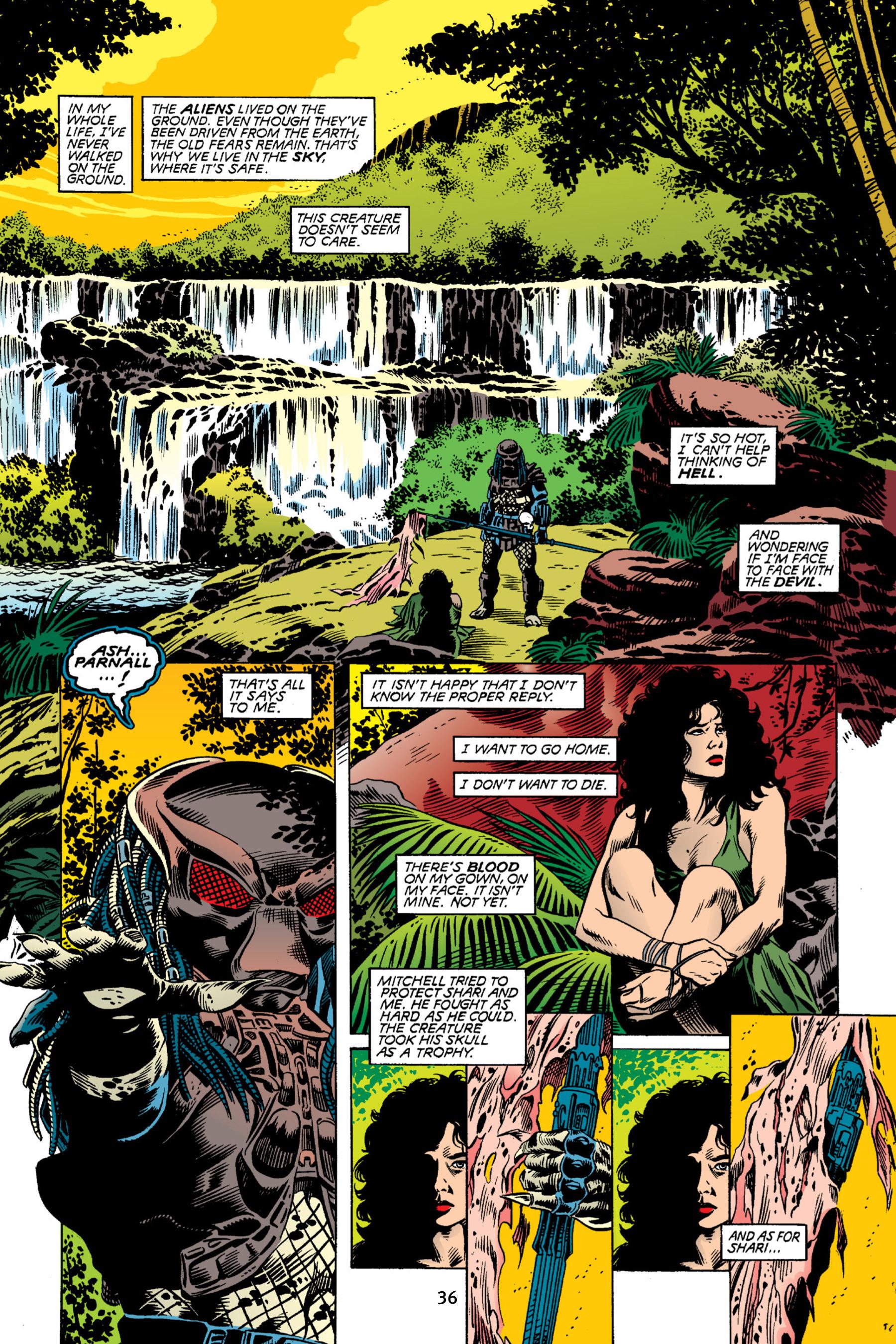 Read online Aliens vs. Predator Omnibus comic -  Issue # _TPB 2 Part 1 - 36