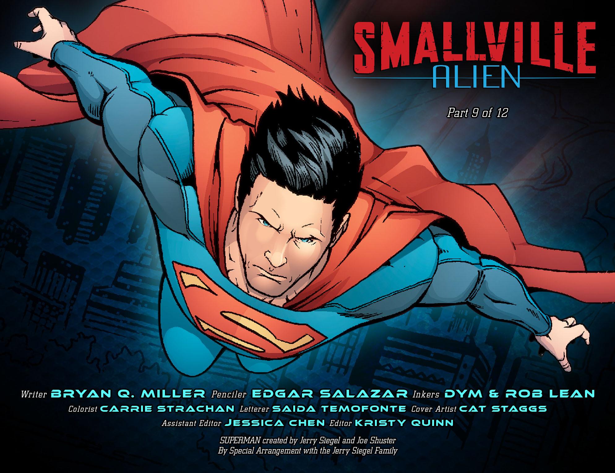 Read online Smallville: Alien comic -  Issue #9 - 2