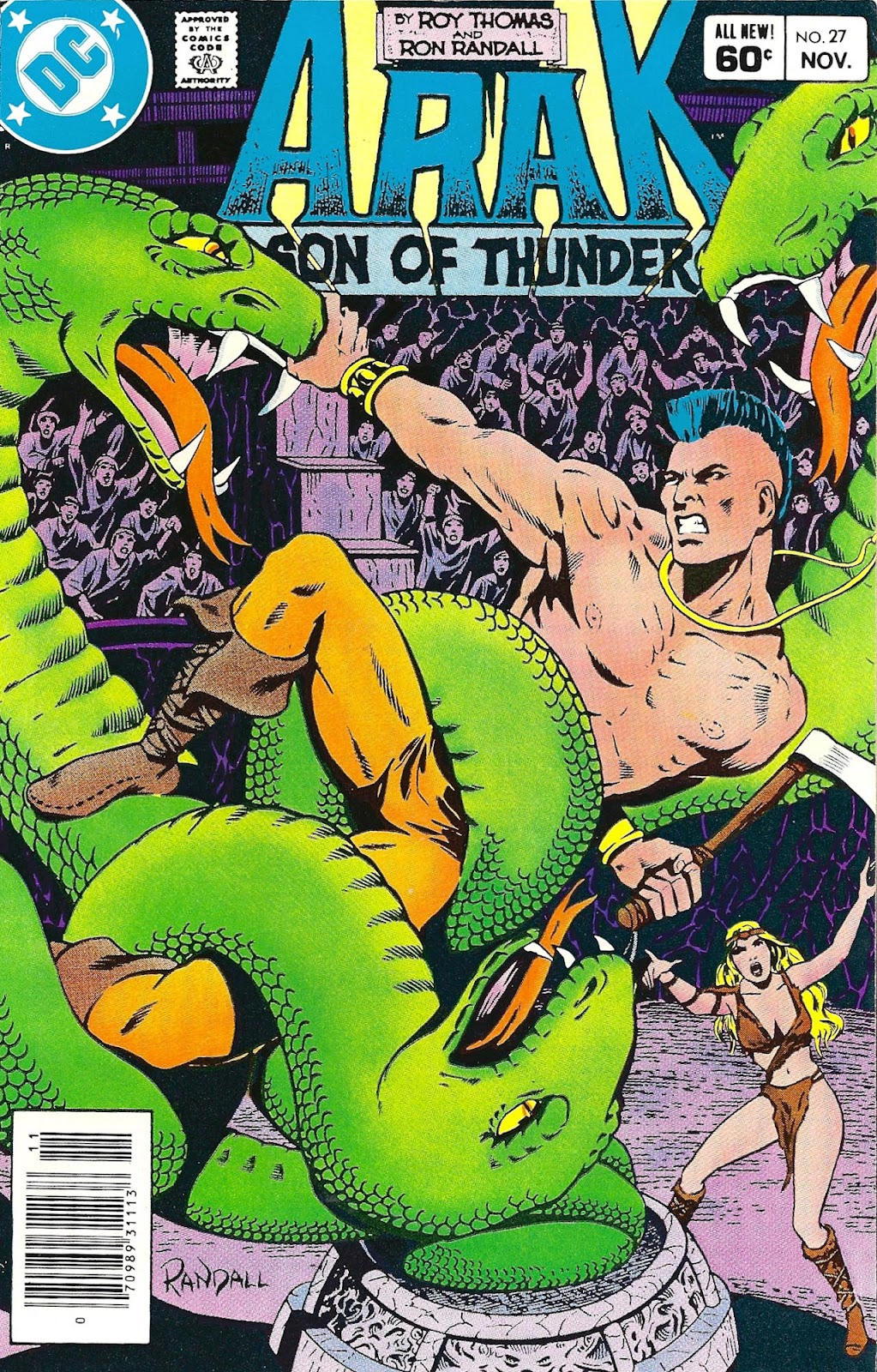 Arak Son of Thunder issue 27 - Page 1