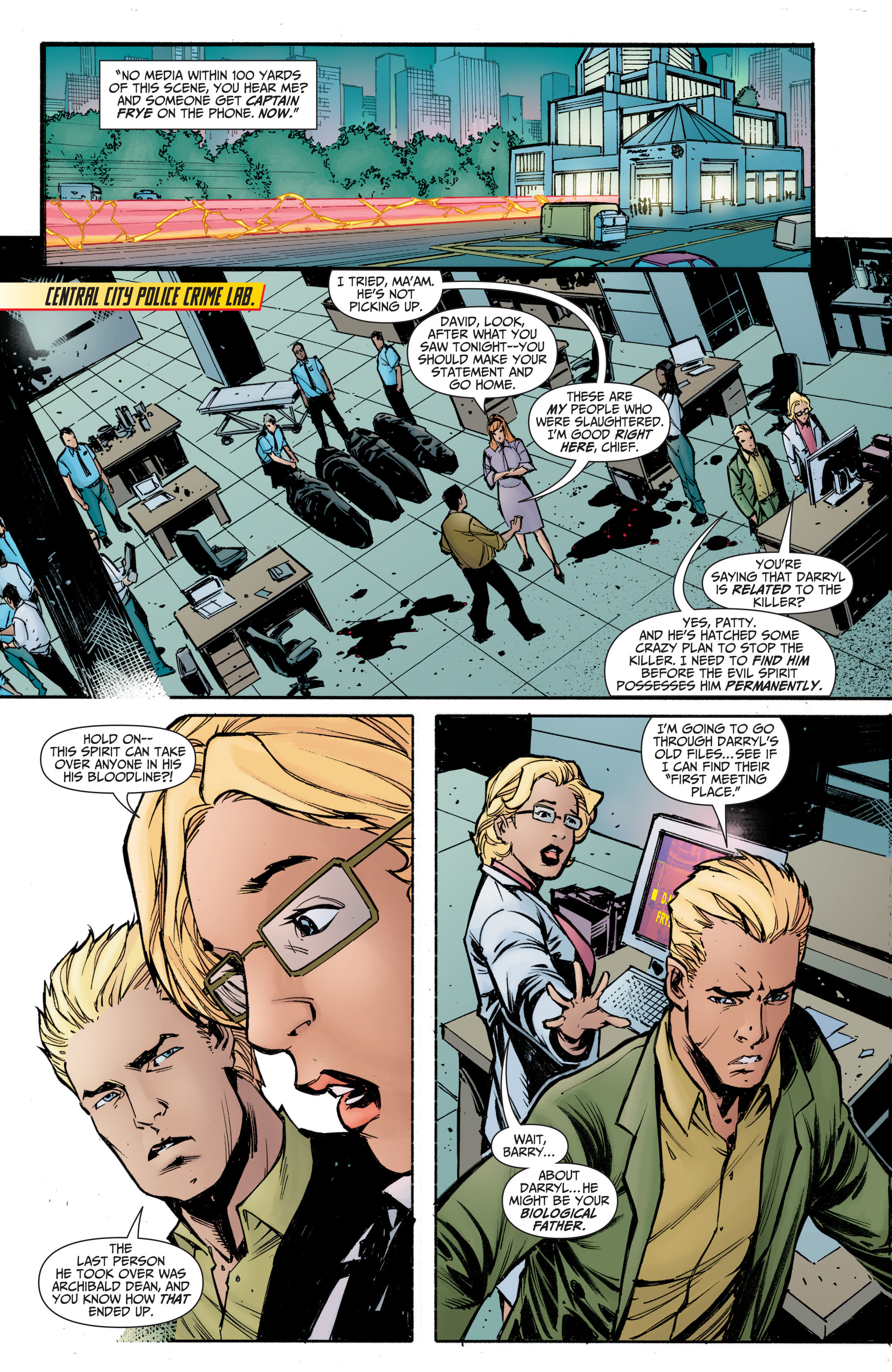 Read online The Flash (2011) comic -  Issue # _TPB 5 - 112