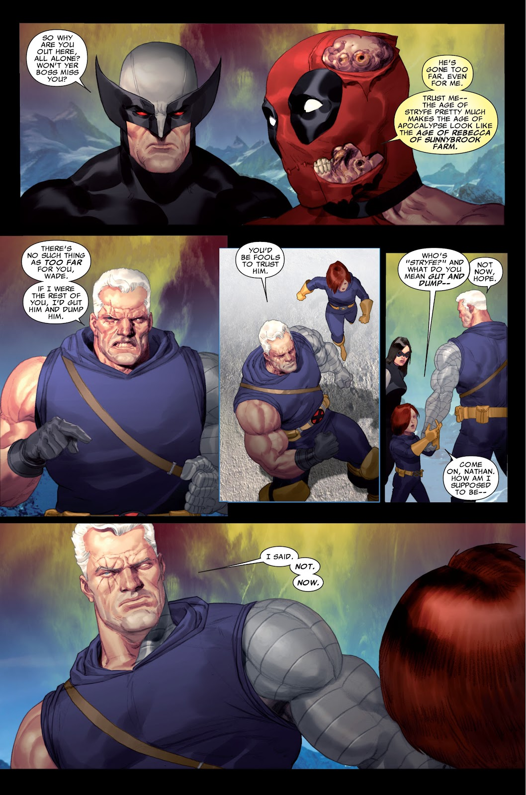 Read online X-Force/Cable: Messiah War comic -  Issue # _TPB (Part 2) - 4