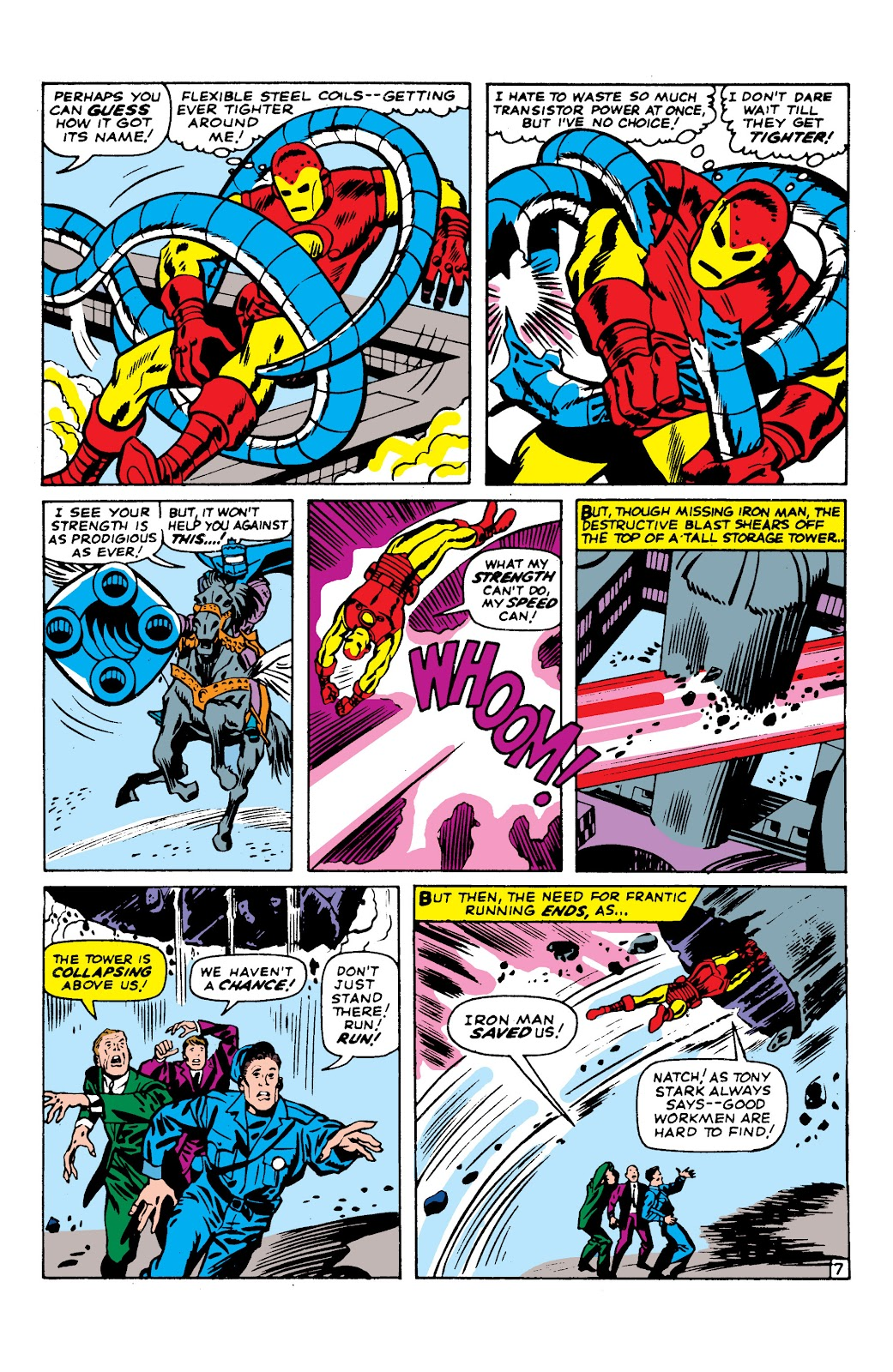 Read online Marvel Masterworks: The Invincible Iron Man comic -  Issue # TPB 2 (Part 2) - 48