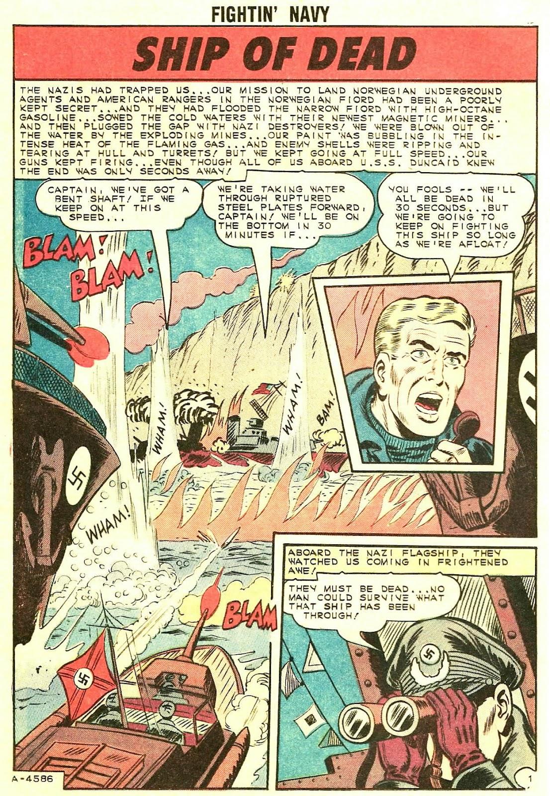 Read online Fightin' Navy comic -  Issue #119 - 12