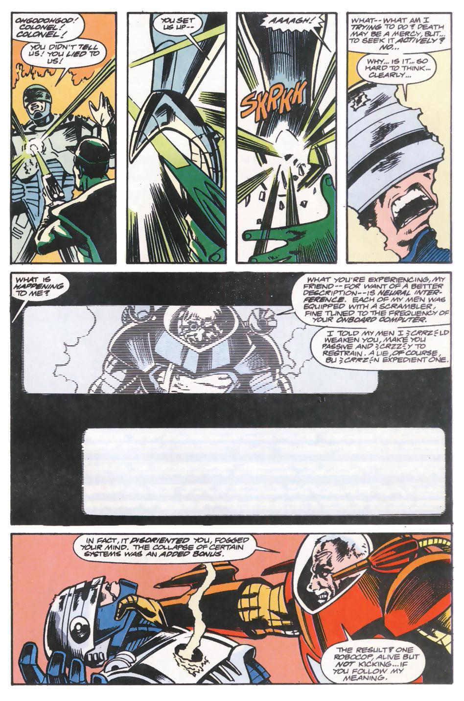 Read online Robocop (1990) comic -  Issue #14 - 14