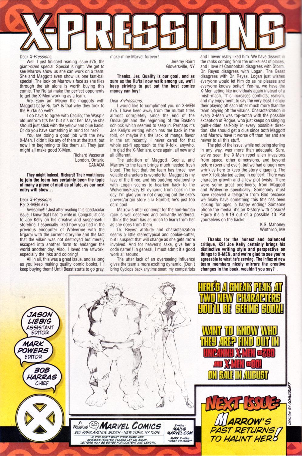 X-Men (1991) 78 Page 21