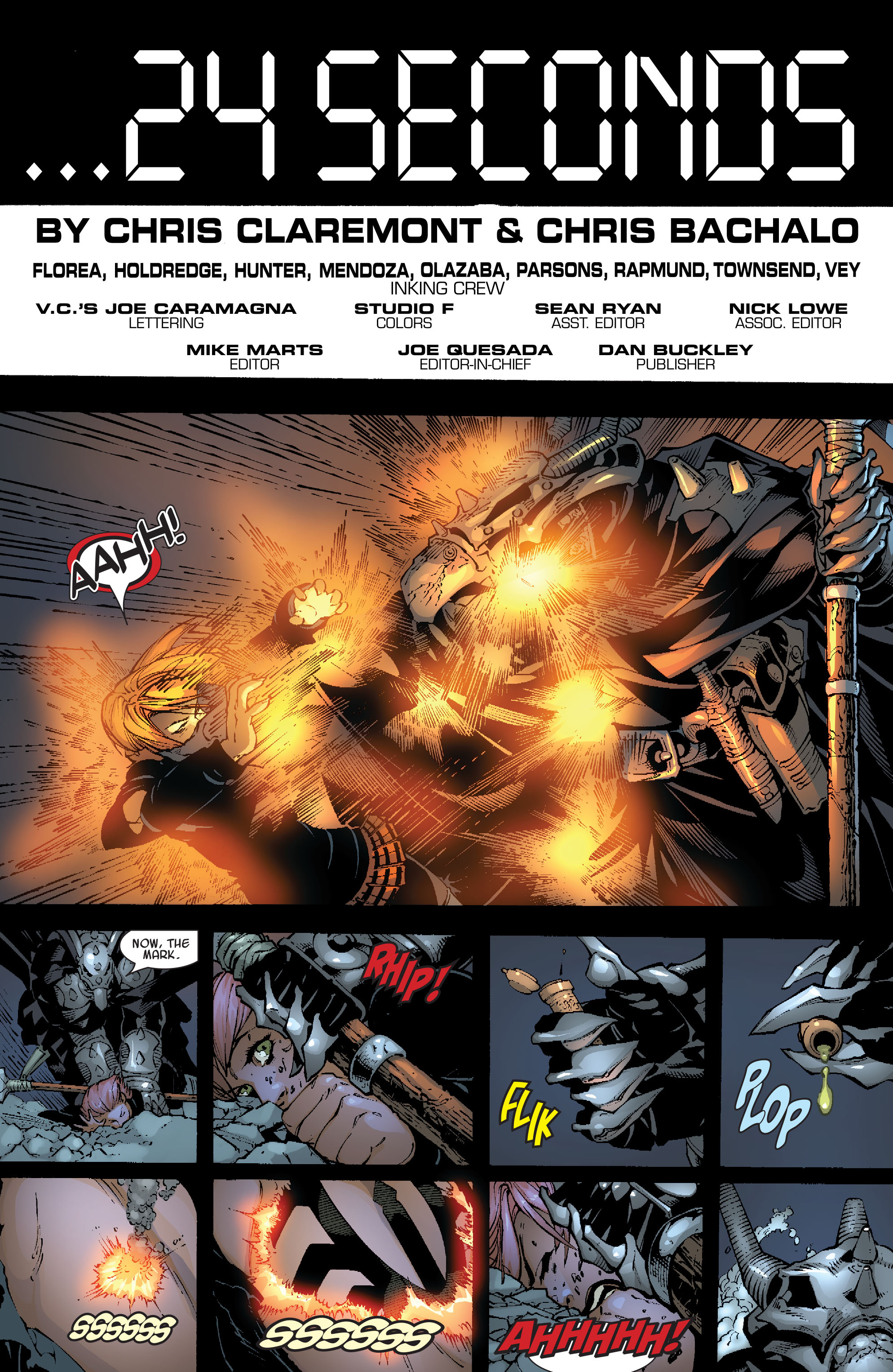 Read online Uncanny X-Men (1963) comic -  Issue #467 - 21