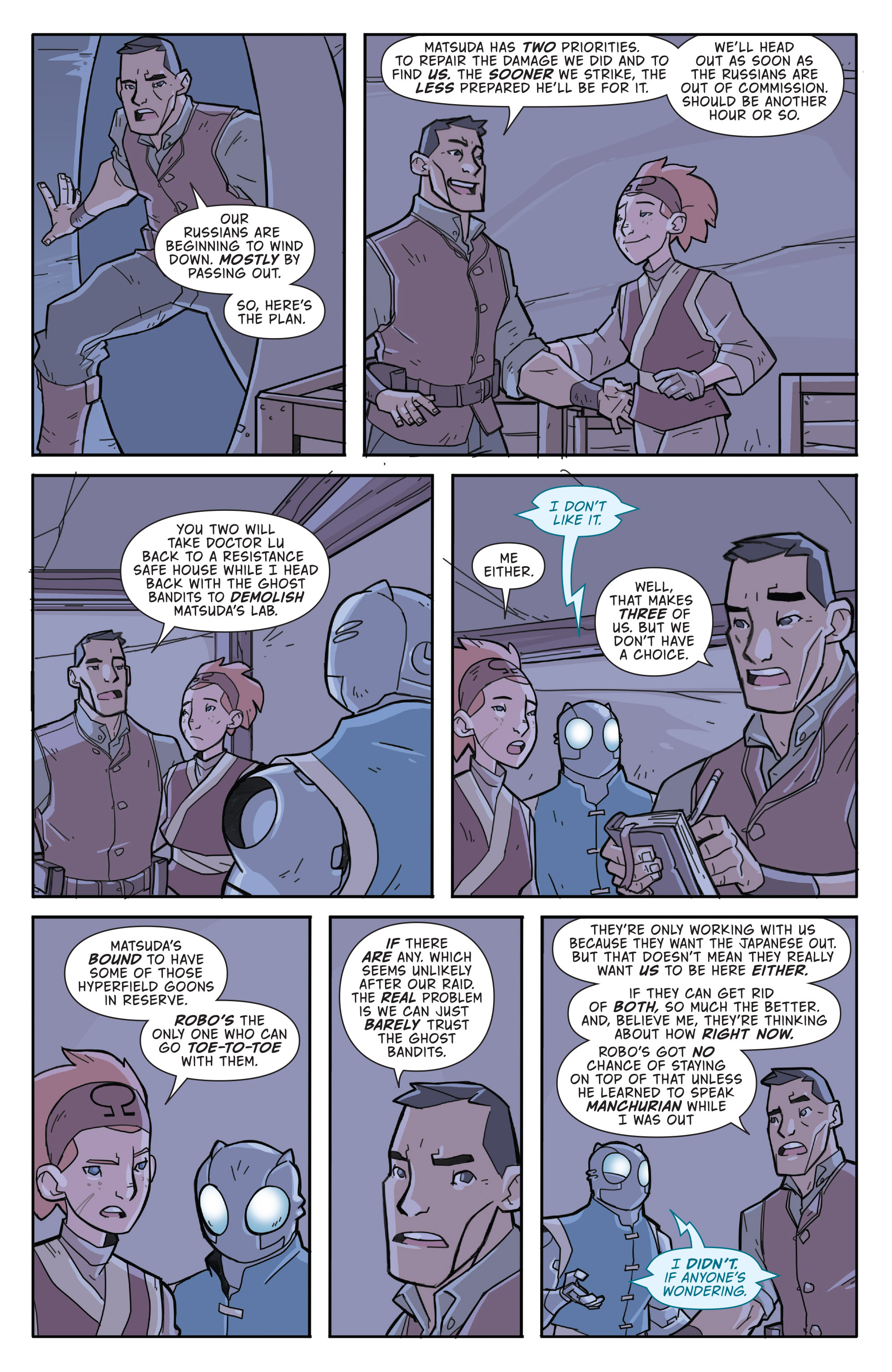Read online Atomic Robo and the Temple of Od comic -  Issue #3 - 15