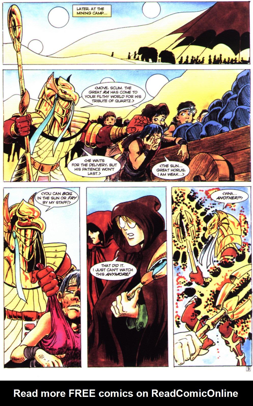 Read online Stargate comic -  Issue #4 - 5