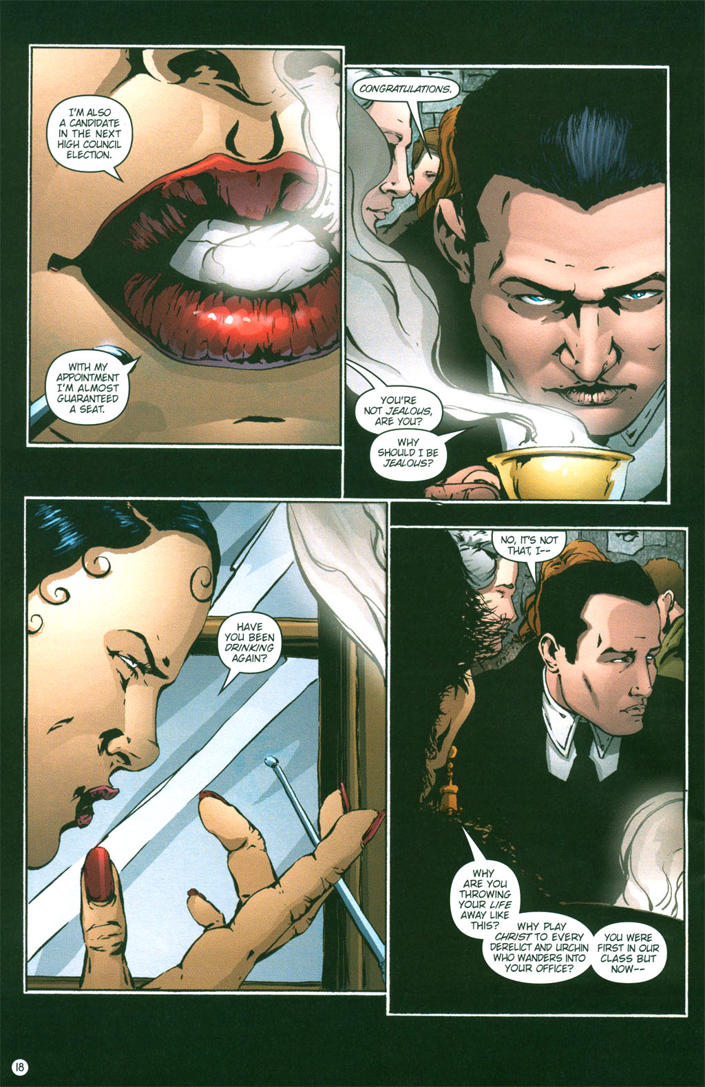 Read online Rex Mundi comic -  Issue #2 - 19