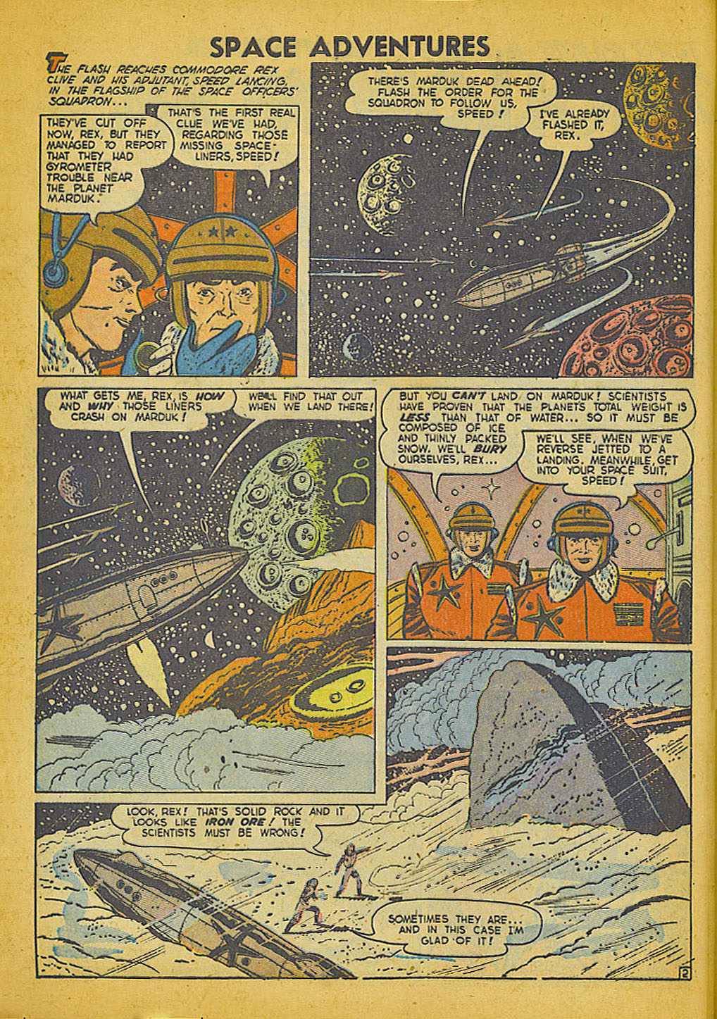 Space Adventures (1952) issue 3 - Page 3