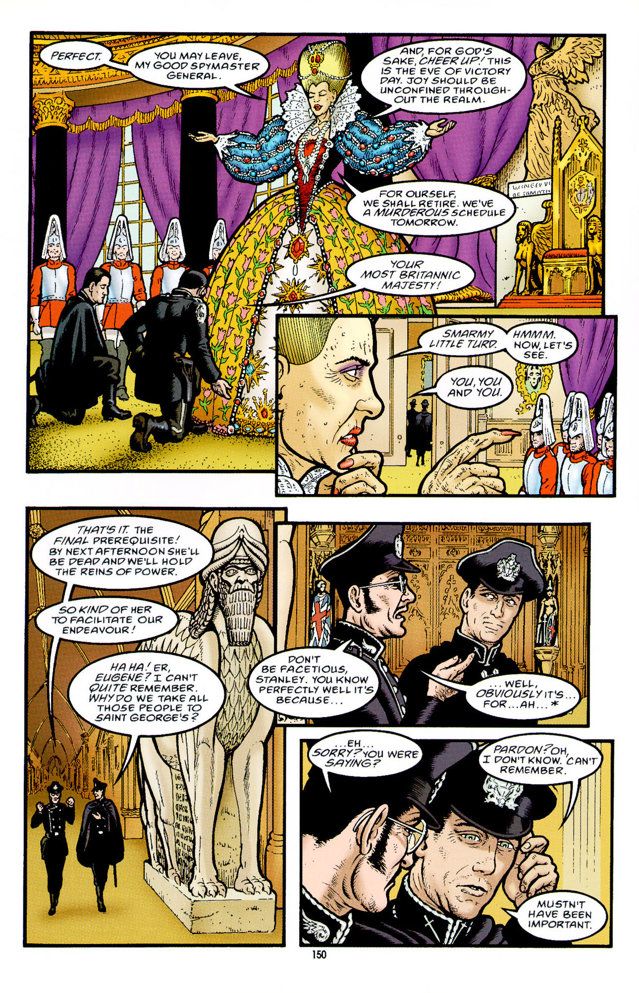 Read online Heart of Empire comic -  Issue #5 - 26