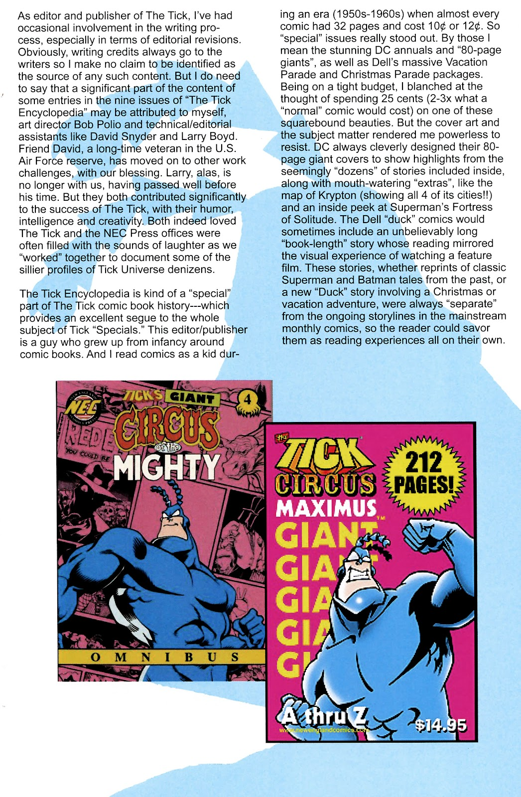 Read online The Tick comic -  Issue #101 - 31