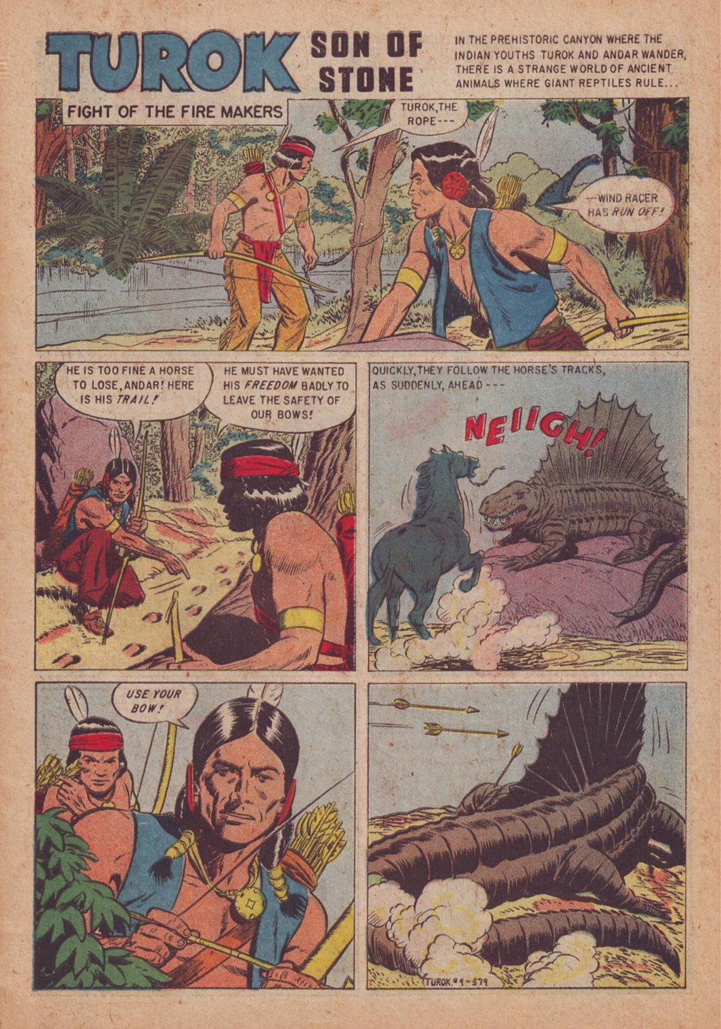 Read online Turok, Son of Stone comic -  Issue #9 - 3